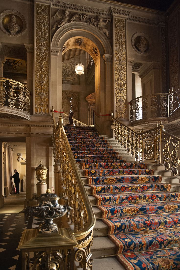 Stairs chatsworth house 015 schule treppe und for Innendesign schule