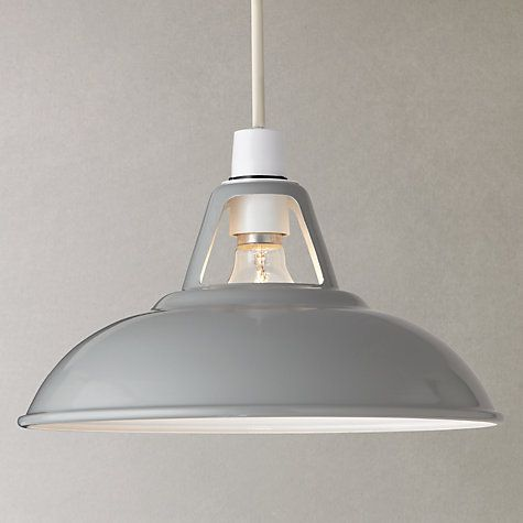 Croft collection easy to fit campbell ceiling shade grey island lightingindustrial