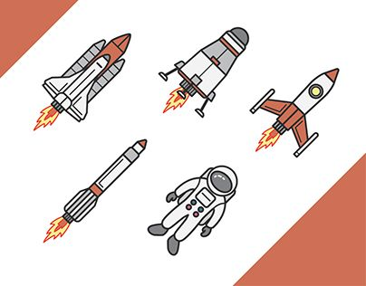 "Check out new work on my @Behance portfolio: ""Space Icon Set"" http://be.net/gallery/49576711/Space-Icon-Set"
