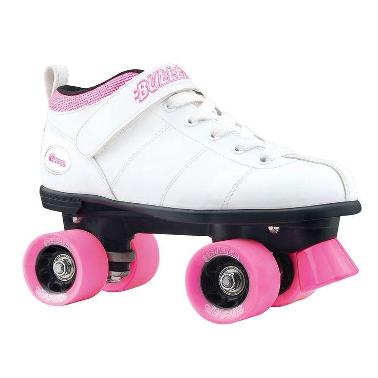 Chicago Skates Bullet Speed Skate - Girls, White