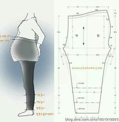 pants pattern for pregnant women
