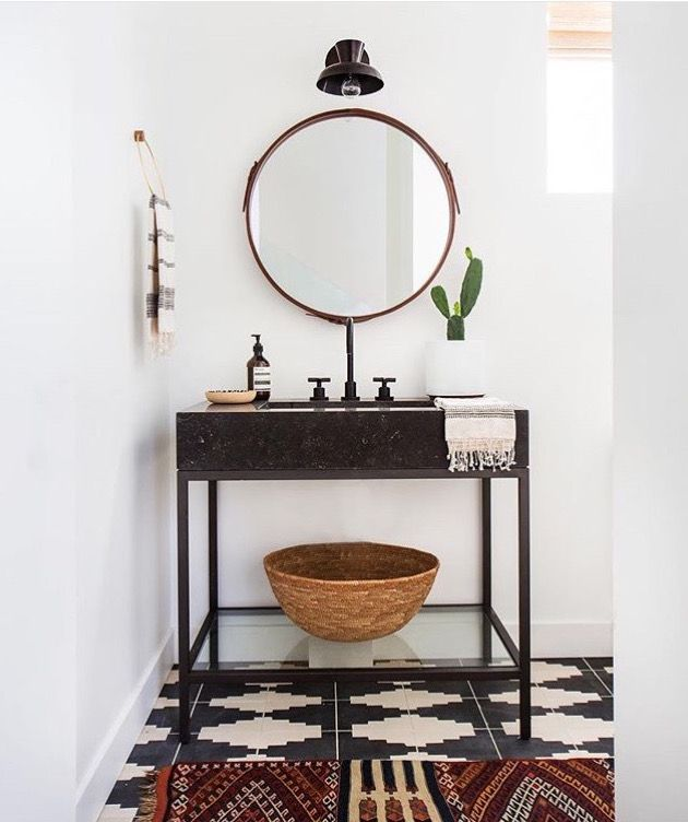 Modern Boho Bathroom Oh Hello There Of My Dreams
