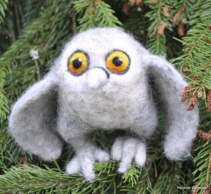 owlet by FeltFashionmagazine on Etsy