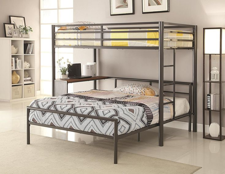 Amazon.com: Twin-over-Full Workstation Loft Bed: Kitchen & Dining