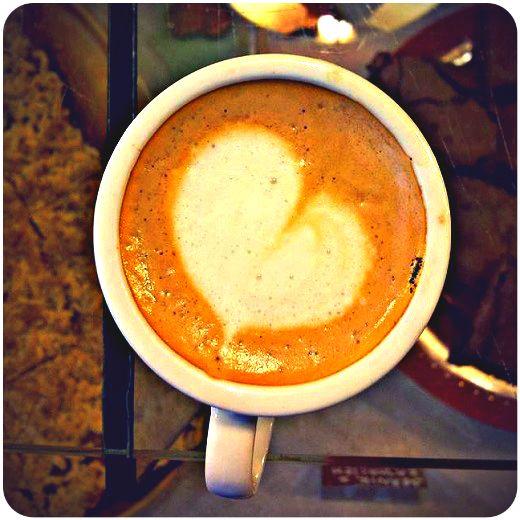 #coffee #kawa #heart #love #serce #omnomnom