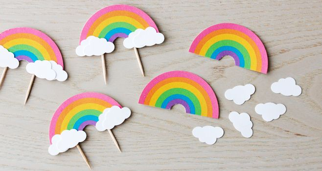 rainbow dash cake template - 25 best ideas about cupcake toppers on pinterest baby