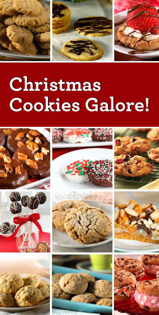 Christmas Cookie Recipes for a Holiday Cookie Swap