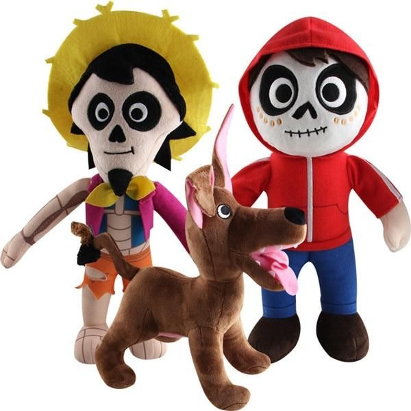 Movie COCO Pixar Plush Toys Day of the Miguel Hector Dante Dog Death Pepita Stuffed Soft Plush Doll toys For Children Disney Pixar, Coco Disney, Walt Disney, Christmas Gifts For Kids, Kids Gifts, Coco Pixar, Dog Toys, Kids Toys, Baby Toys