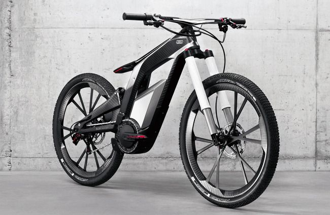아우디 자전거 - AUDI e-Bike Worthersee :: Heiswed