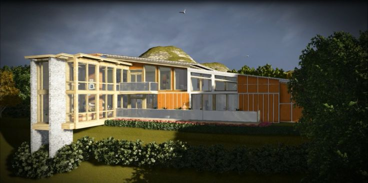 House Design Using Sketch UP & Lumion