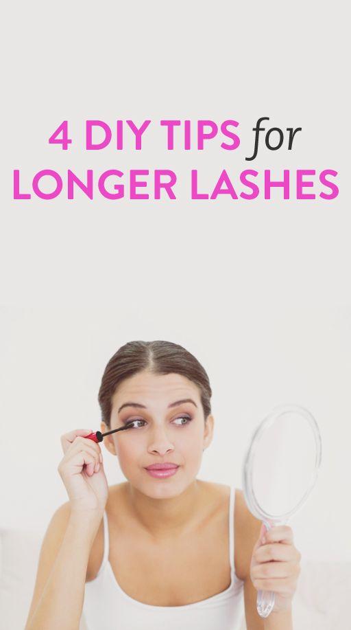 4 tips for longer lashes