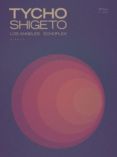 Tycho LA Ticket Giveaway » ISO50 Blog – The Blog of Scott Hansen (Tycho / ISO50)
