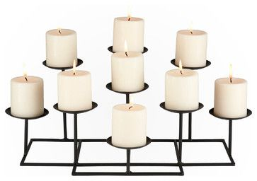 Campbell Candelabra - traditional - Candles And Candle Holders - Shop Chimney (Candle Holder Design)