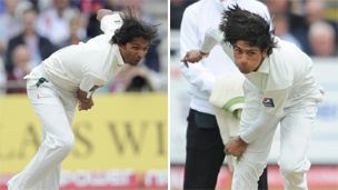 Arrest over Pakistan-England Test cricket 'betting scam' - Mohammad Asif (left) and Mohammad Amir:  www.devildogs.co.uk/blog/down-out/