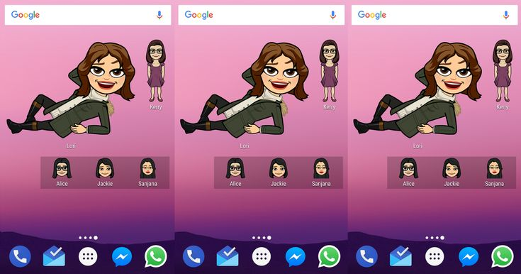 Sorry, iPhone fans, the latest Snapchat Bitmoji feature is