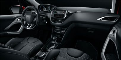 Feel the luxury of the materials and attention to detail in the #Peugeot2008