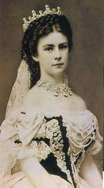 Elisabeth of Bavaria - Empress of Austria and Queen of Hungary. 1837-1898. She was known as Sisi, and had important influence on the country behind-the scenes, such as encouraging the construction of the Budapest Opera House.