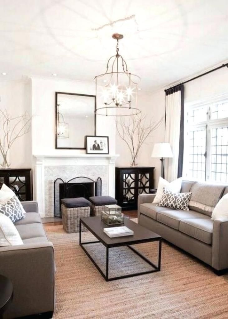 Zwei Sofas Im Wohnzimmer Innenarchitektur 2018 Pinterest   Wohnzimmer Deko  Grau