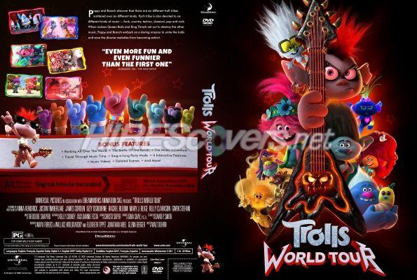 Trolls World Tour 2020 Custom Dvd Cover In 2020 Custom Dvd Dvd Label Movie Covers