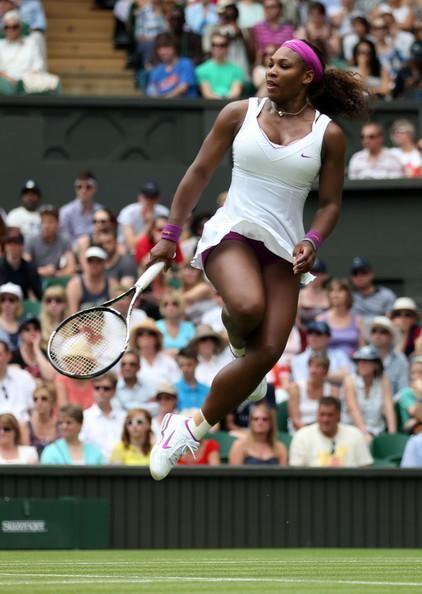Serena has ups! 2012 The Championships at Wimbledon Champion. Serena became The Championships Champion for a 5th Time. #TEAMSERENA