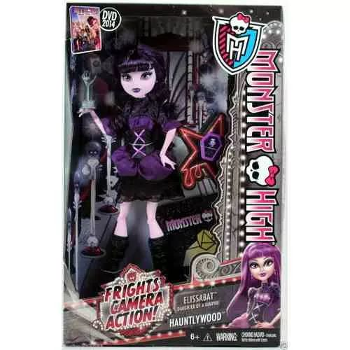 Monster High Frights Camera Action Elissabat - $ 1.299,99