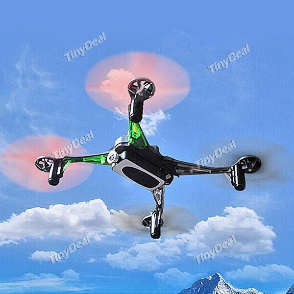 Nine Eagles MASF15 Galaxy Visitor 6 4CH 360° Flips 2.4GHz RC Quadcopter w 6-Axis Gyro 720P HD FPV Camera RTF TRC-368033
