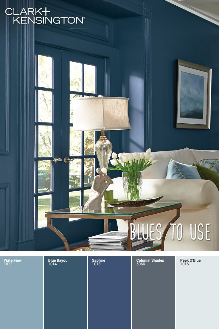 Choose The Perfect Shade Of Blue Paint For Any Room In Your Home Blue Paint Living Room Paint Colors For Living Room Blue Grey Paint Living Room