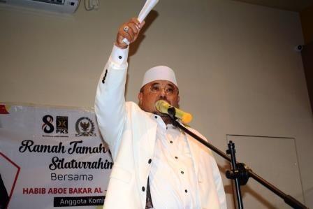 Ramah Tamah dan Silahturahmi Kader PKS se-Kaltara Bersama Habib Aboe Bakar Al Habsyi Kepada SOBAT