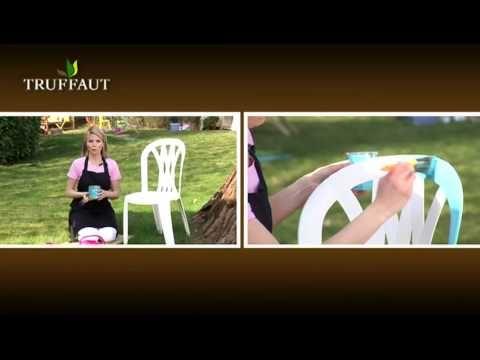 Déco : comment relooker une chaise de jardin ? - Jardinerie Truffaut TV - YouTube
