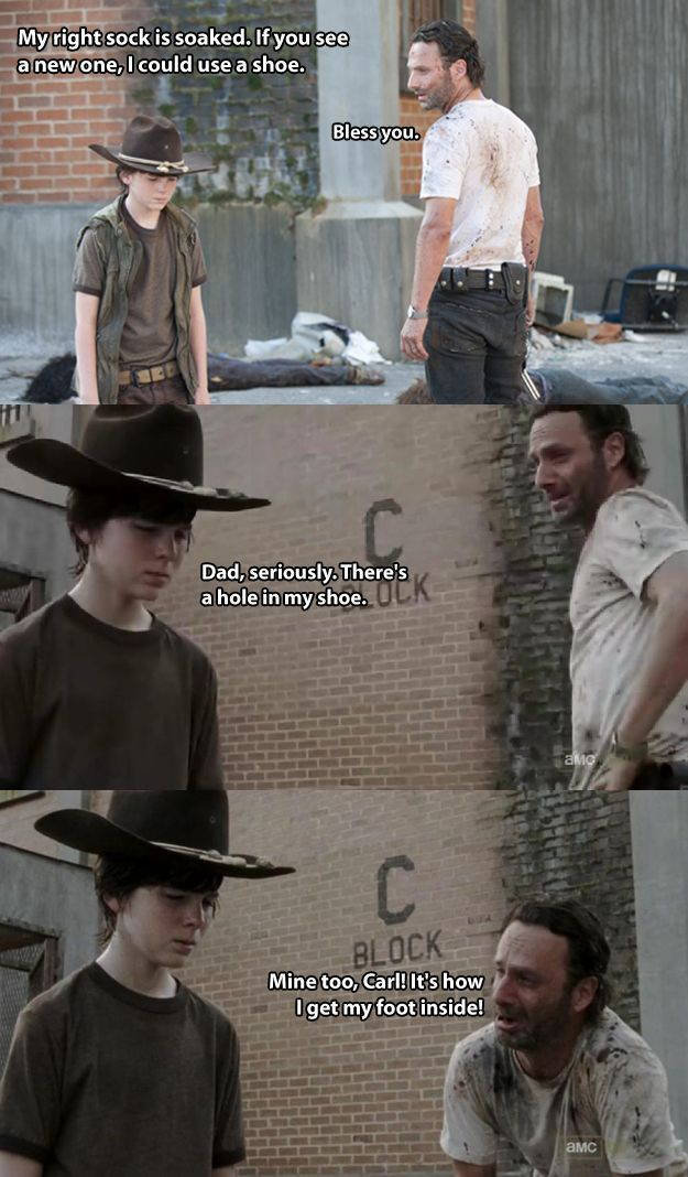 Rick Grimes Makes Terrible Dad Jokes (lol click it there's more)