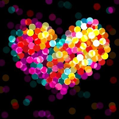 <3Lights Art, Colors, Rainbows, Christmas Lights, Inspiration Pictures, Wallpapers, Things, Happy Heart, Glitter