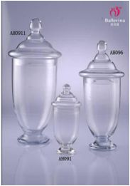 Candy buffet jars glass jars