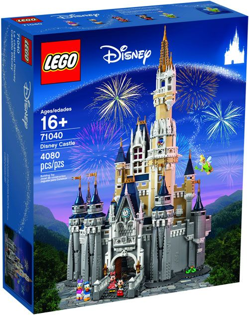 LEGO Disney Castle 71040 - Box Image