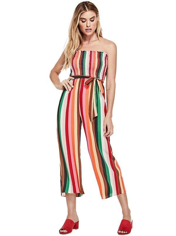bde1687493c7 Kiza Strapless Striped Jumpsuit. Kiza Strapless Striped Jumpsuit Rompers  Women ...