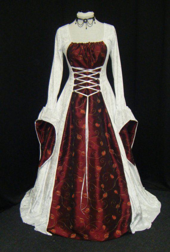 renaissance dress renaissance costume  by camelotcostumes on Etsy