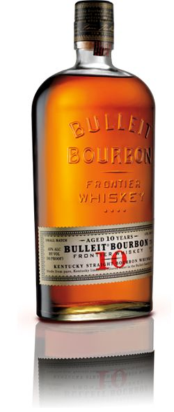 Bulleit Bourbon is made with small-batch techniques inspired by those pioneered by Augustus Bulleit over 150 years ago. Only ingredients of the very highest quality are used. The subtlety and complexity of Bulleit Bourbon come from its unique blend of rye, corn, and barley malt, along with special strains of yeast and pure Kentucky limestone filtered water. Due to its especially high rye content, Bulleit Bourbon has a bold, spicy character with a finish that's distinctively clean and smooth…