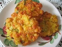 indonesian food recipes: Perkedel Jagung (Corn Fritters)