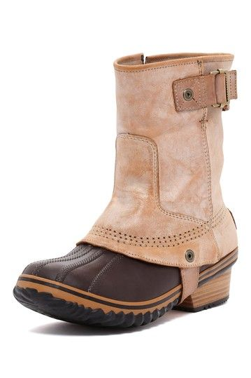 Wonderful 6933H_3 Sorel Conquest Carly Short Pac Boots  Waterproof Insulated