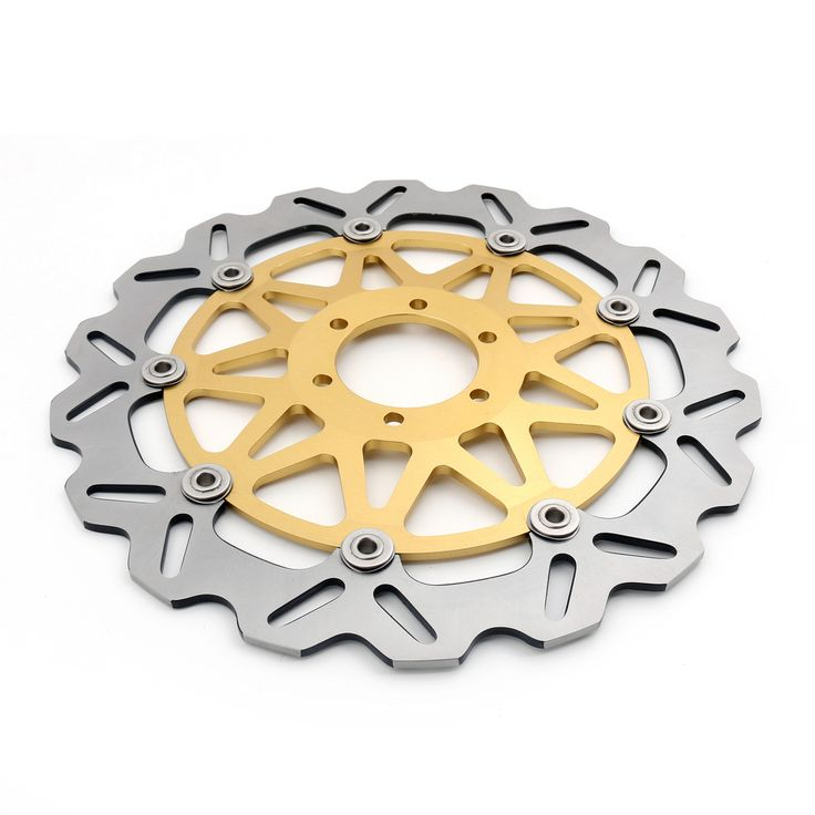 Mad Hornets - Front Brake Disc Rotor YAMAHA TZR 125, FZX ZEAL 250, TDR TZR 250, FZR EXUP 1000, XJR 1200, Gold, $139.99 (http://www.madhornets.com/front-brake-disc-rotor-yamaha-tzr-125-fzx-zeal-250-tdr-tzr-250-fzr-exup-1000-xjr-1200-gold/)