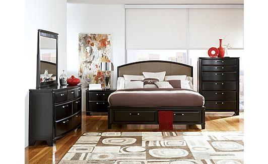 24 best bedroom images on pinterest bedroom suites bedrooms and luxury bedrooms for Ashley millennium bedroom suite