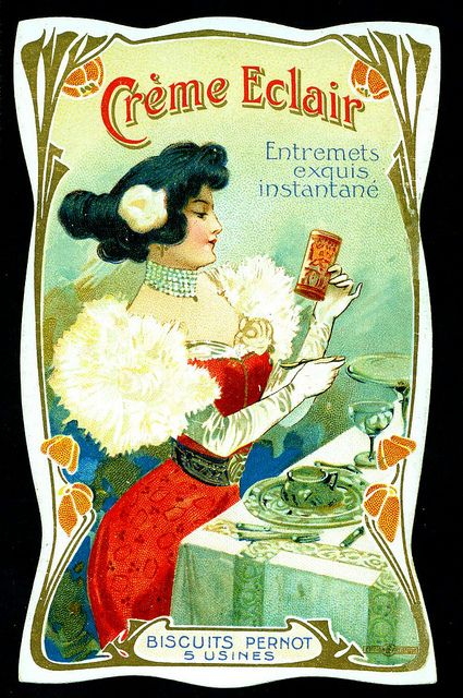 Biscuits Pernot - Creme Eclair by cigcardpix, via Flickr