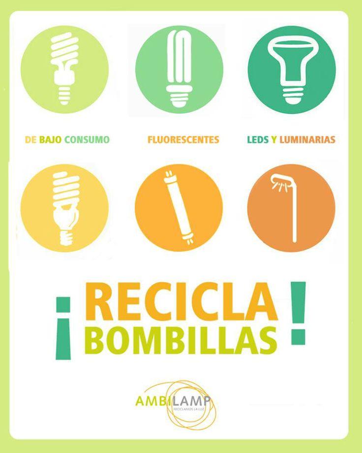 Os recordamos que nuestra tienda es un punto de recogida Ambilamp, aquí podéis desechar vuestros tubos y todo tipo de bombillas, también recogemos pilas, no las tires a la basura!:)