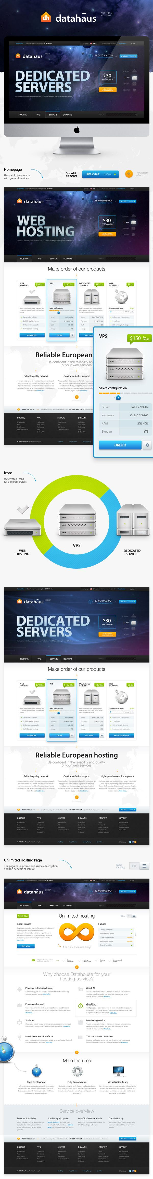 datahaus-web-hosting-design