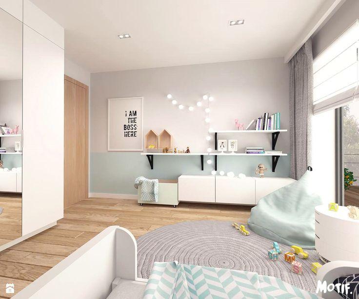 + oddzielenie ściany + niskie szafki plus półki wiszące