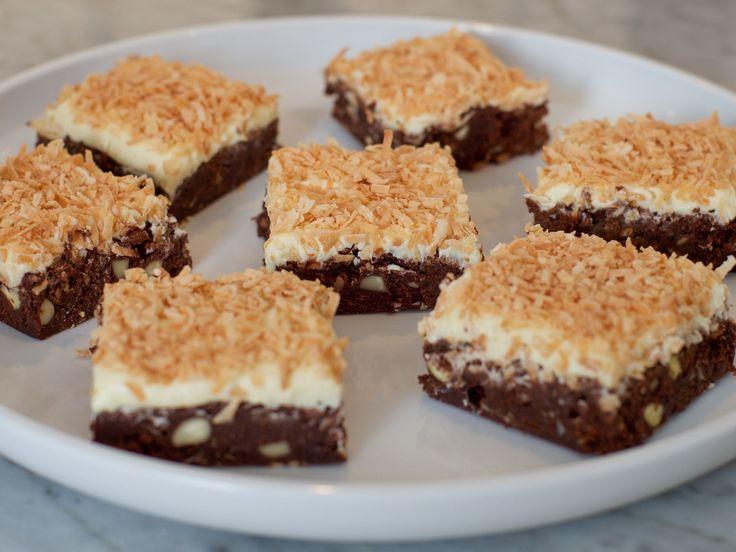 Toasted Coconut Brownies recipe from Eddie Jackson via Food Network