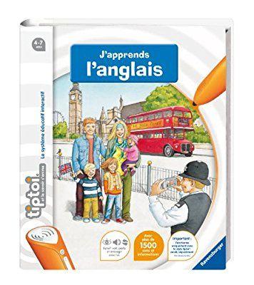 Ravensburger - 00606 - Jeu Éducatif Électronique - Tiptoi - Livre - J'apprends l'anglais