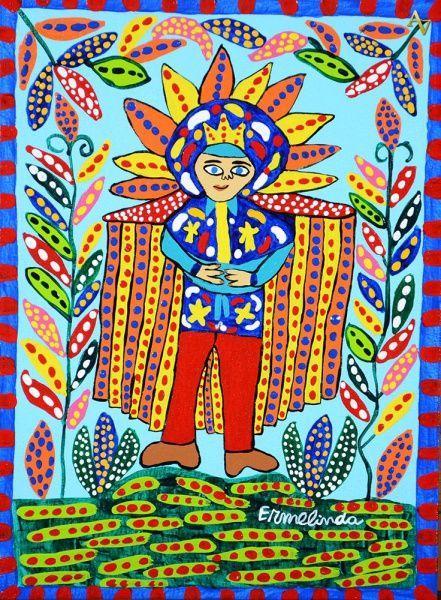 Ermelinda. Personagem Bumba Meu Boi. 33x24 cm..