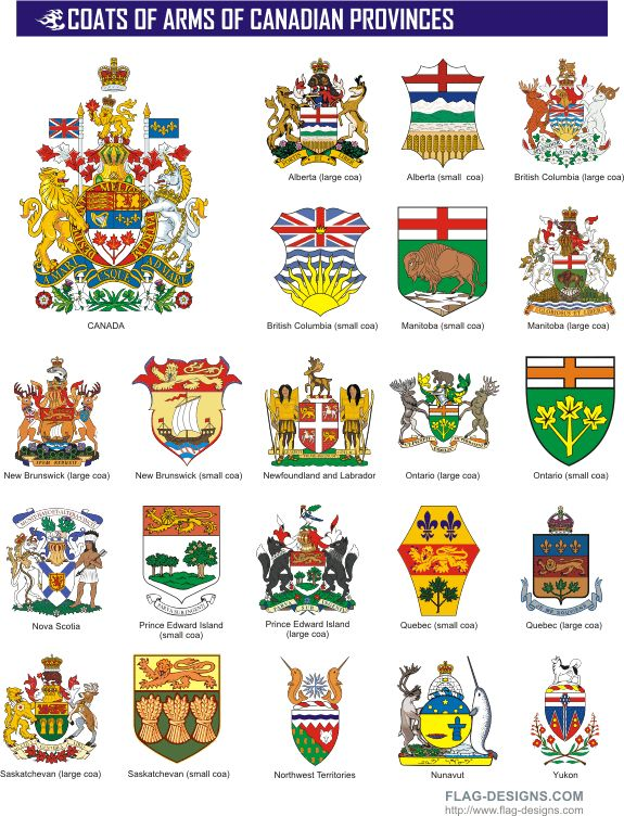 Provincial & Territorial Coats of Arms