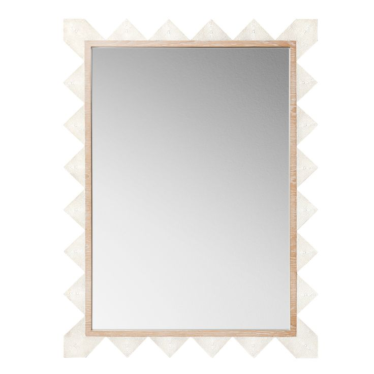 Emporium Home Chancey Cream Wall Mirror @LaylaGrayce