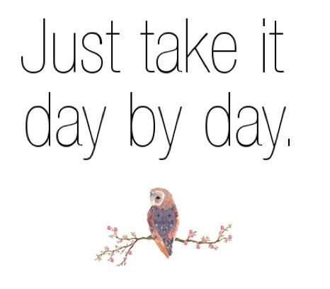 Thoughts, Daybyday, Time, Life, Day By Day, Wisdom, Living, Inspiration Quotes, Owls